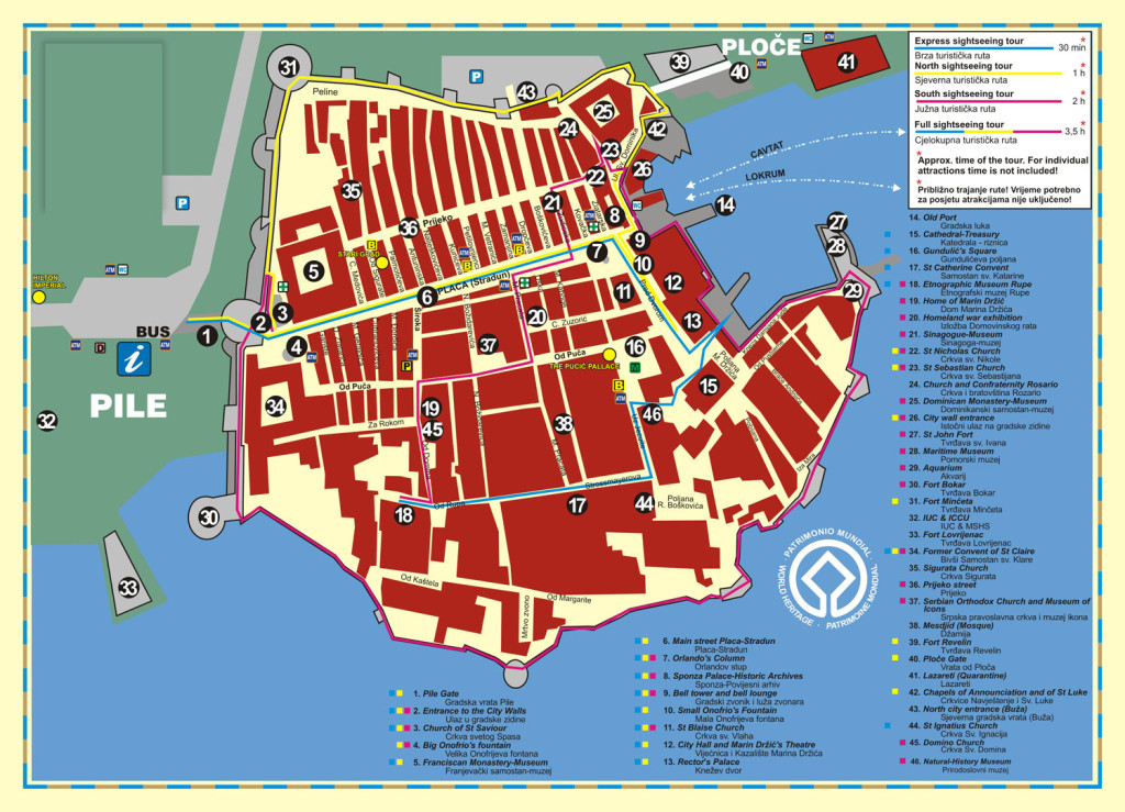 dubrovnik-croatia-city-map