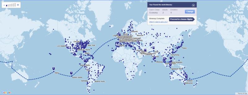 the around the world