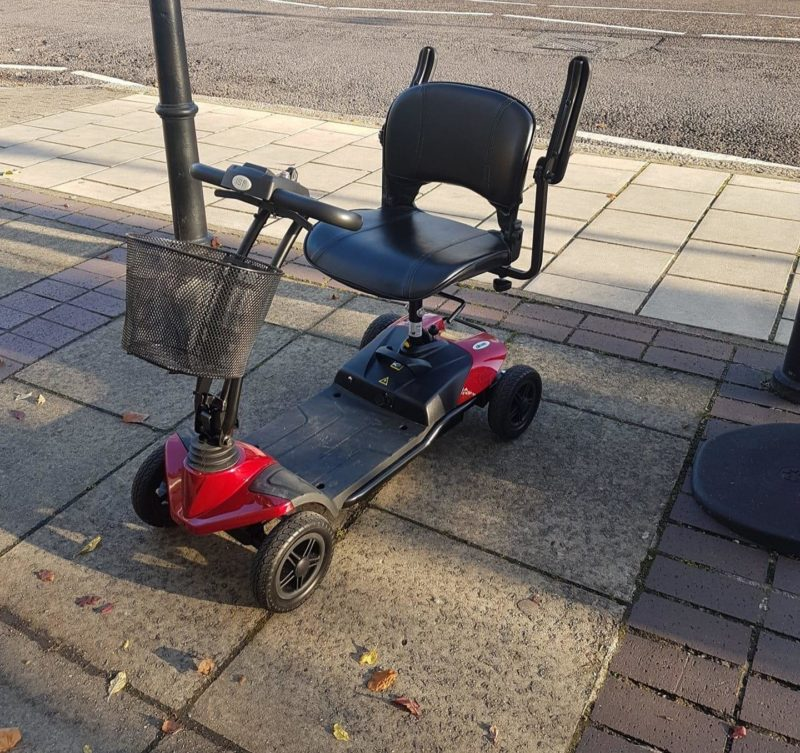 life with a mobility scooter